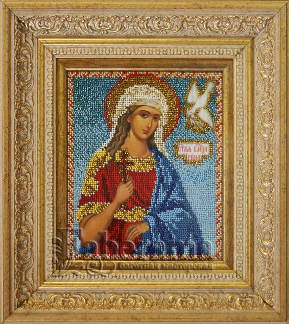 Оформление вышивок икон из бисера