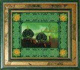 """Оформление вышивки бисером в багет. """"Мечеть"""" (Вышивальная мозаика, 002РВ)."""