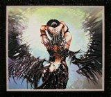 """Оформление вышивки бисером в багет. """"Оксамитовые крылья"""" (женщина, черный ангел, Изящное рукоделие, BP-109)."""