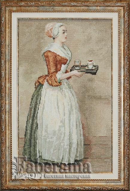Шоколадница лиотар схема вышивки 494